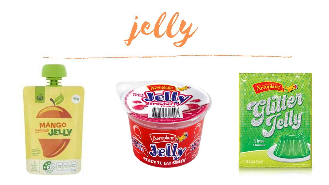 Vegan jelly