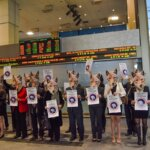 Canada Goose Protest at the Toronto Stock Exchange