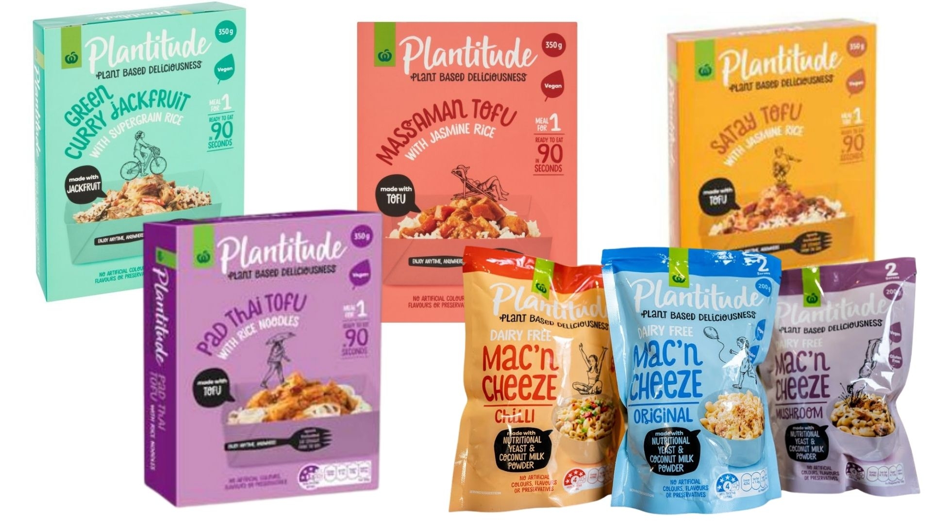 Ready made meals from Plantitude.