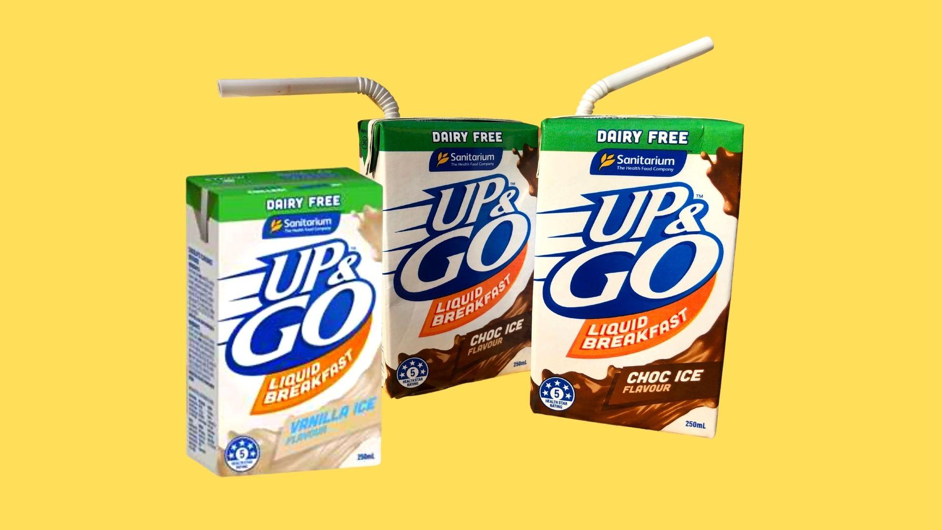 Up & Go Dairy-Free.