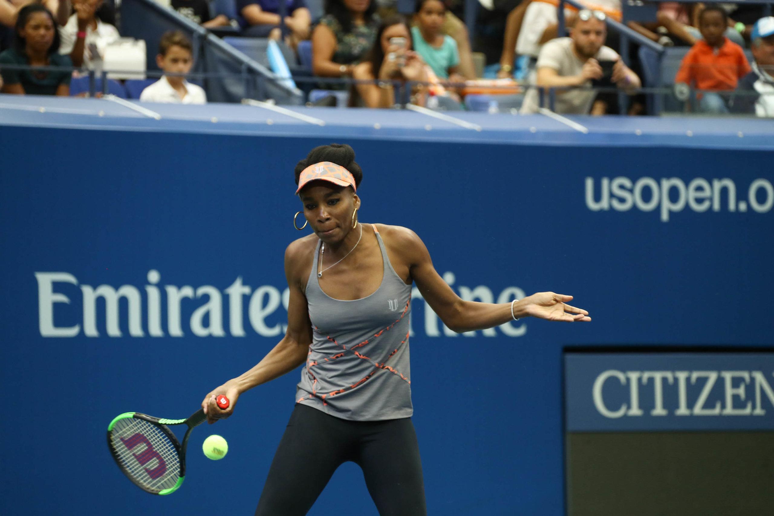 A photo of Venus Williams